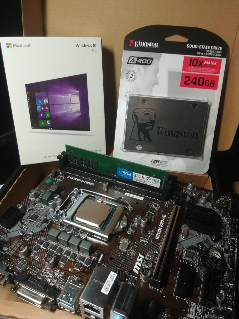 Сборка нового компьютера